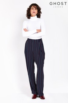 Ghost London Stripe Printed Lexi Trousers