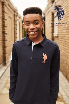 U.S. Polo Assn. Navy Rugby Shirt