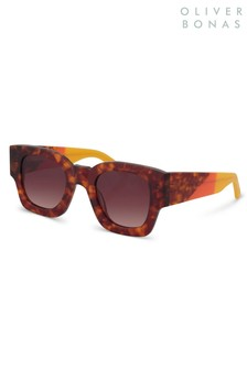 Oliver Bonas Animal Paris Square Sunglasses