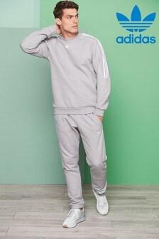 adidas Radkin灰色經典慢跑褲