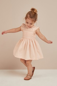 d6ca4a2f94b Flower Embroidered Dress (3mths-7yrs)