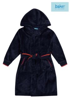 baker by Ted Baker Navy Embossed Robe