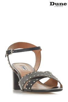 Dune London Black Joyride Sandal