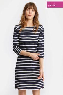 Joules Navy Stripe Riviera Dress