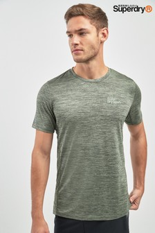 Superdry Light Olive Sports Top