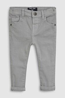 柔軟彈性斜紋長褲 (3個月至7歲)