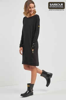 Barbour® International Black Burnett Dress