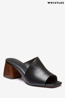 Whistles Black Arcade Asymmetric Mule
