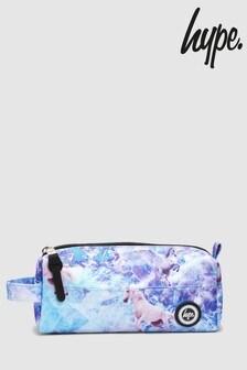 Hype. Purple Unicorn Pencil Case