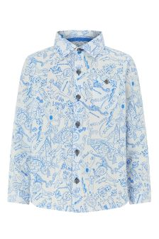 Monsoon Ivory Daniel Doodle Shirt