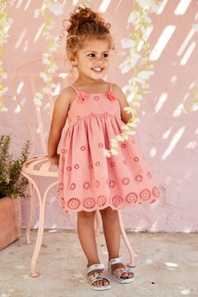 Broderie Dress (3mths-7yrs)
