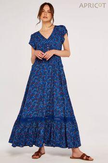 GANT Blue Brushed Oxford Check Regular Shirt