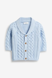 Cable Knit Cardigan (0mths-2yrs)