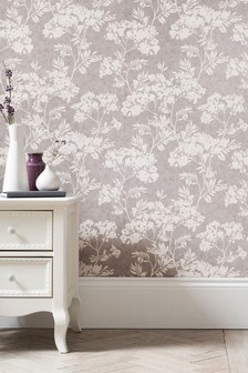 Paste The Wall Calm Floral Wallpaper