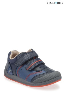 Start-Rite Blue Tough Bug First Shoe