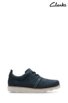 Clarks Blue Crown Park K Shoe