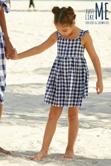 Gingham Dress (3-16yrs)
