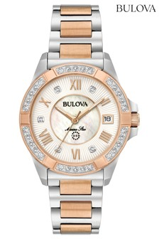 Ladies Bulova Marine Watch Bracelet