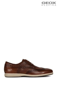 Geox Brown U Blainey Shoe