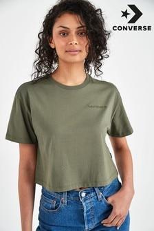 Converse Kastiges, kurzes T-Shirt