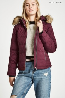 Jack Wills Damson Durley Down Jacket
