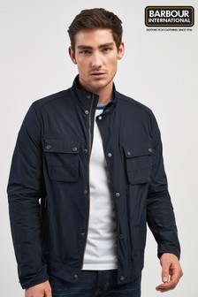 Barbour® International Navy Stannington Casual Jacket