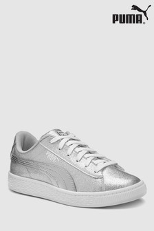 Puma® Metallic Basket Youth Trainer