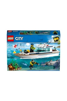LEGO® Diving Yacht Boat Toy 60221