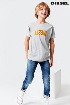 Diesel® Kids Distressed Sleenker Jogg Slim Fit Jean