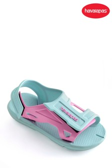Havaianas® Kid's Move Ice Blue Velcro Sandal
