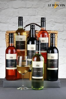 Le Bon Vin Italian Selection Wine Hamper