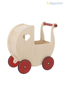Wooden Toy Dolls Pram by Hippychick