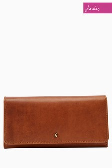 Joules Tan Tally Purse