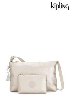 Маленькая сумка с ремешком через плечо Kipling Metallic Atlez Duo