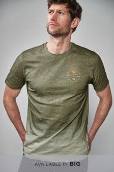 浸染圖案T恤