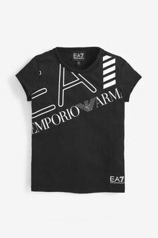 EA7 Black Logo T-Shirt