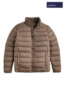Joules Lightweight Chevron Quilted Jacket
