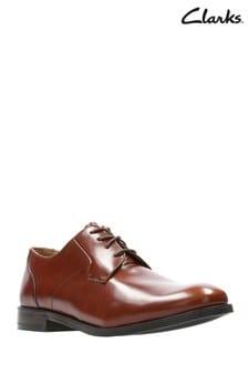 Svetlohnedé topánky Clarks Edward