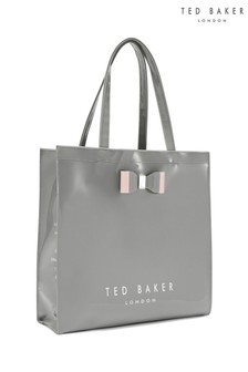 Ted Baker Grey Large Icon Shopper Bag