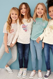 Long Sleeve Heart T-Shirt (3-16yrs)