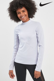 Nike Pro HyperCool Long Sleeve Ribbed Tee