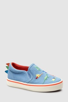 Embroidery Slip-Ons (Younger)
