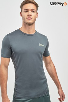 Superdry Olive Sports Top