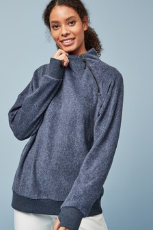 Ski Zip Neck Sweatshirt
