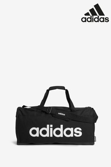 adidas Black Linear Duffle Bag