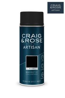 Craig & Rose Black Magnetic Chalkboard Spray Paint