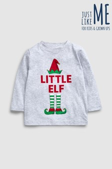 Younger Kids Little Elf T-Shirt (3mths-6yrs)