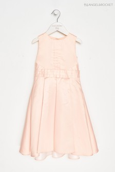 Angel & Rocket Pink Bow Back Dress