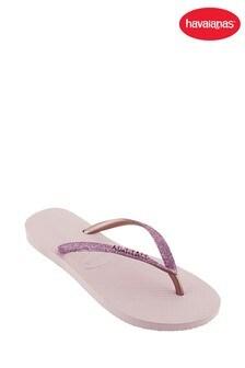 Havaianas® Rose Slim Glitter Sandals