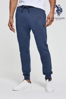 U.S. Polo Assn.  Blue Core Fleece Joggers